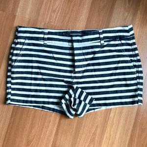 Gap Factory Striped Shorts.